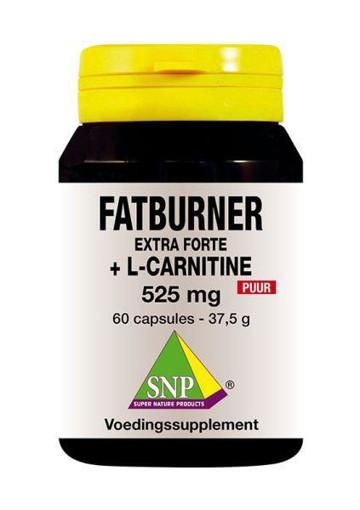 afbeelding van Fatburner extra forte & L-carnitine 525 mg puur