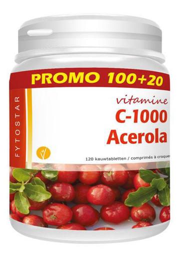 afbeelding van Acerola vitamine C maxi