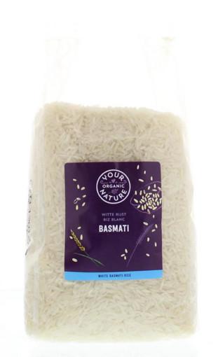 afbeelding van Basmati rijst wit