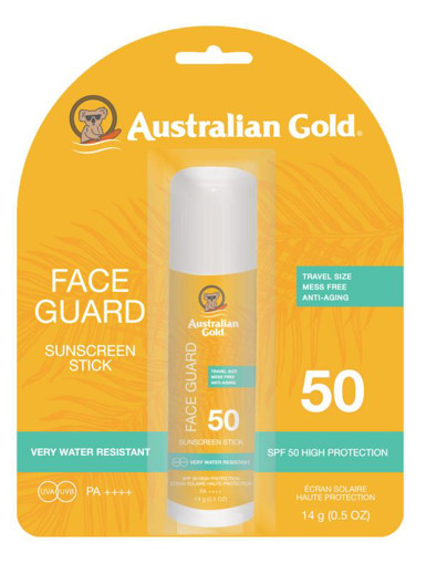 afbeelding van face guard stick spf50